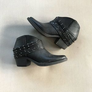 Studded Booties - Forever 21
